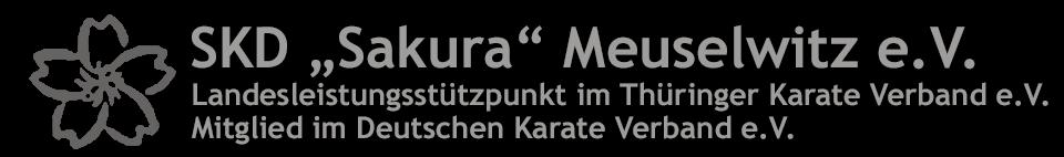 """SKD """"Sakura"""" Meuselwitz e.V."""
