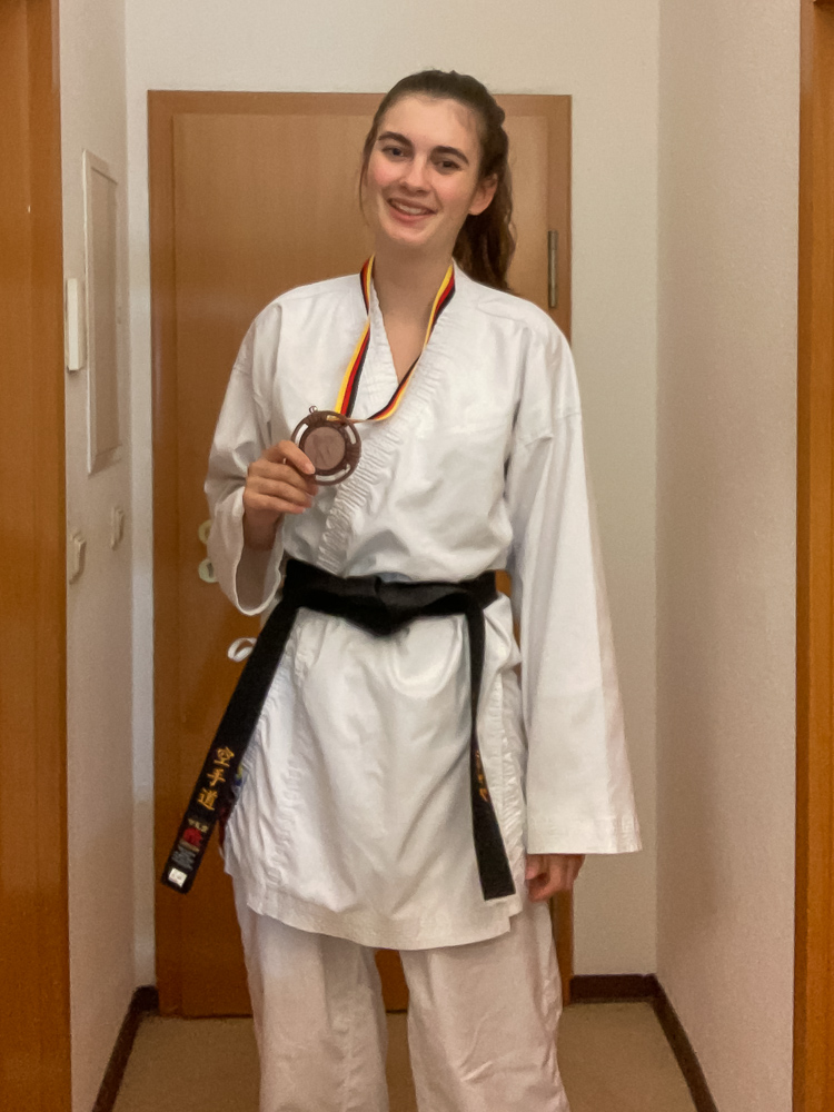 Talina Titz, Bronzemedaille